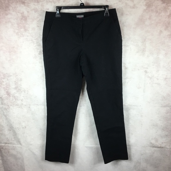 Vince Camuto Pants Ponte Black Ankle Dress 8 Poshmark